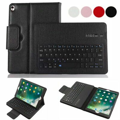 £18.99 • Buy Case + Bluetooth Keyboard For Apple IPad Air 1/2 Mini 1/2/3/4 Pro Leather Cover