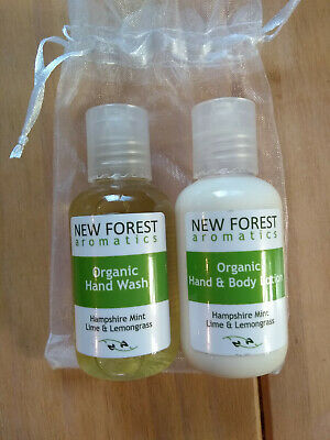 £4.50 • Buy New Forest Aromatics Hand Wash And Hand/Body Lotion