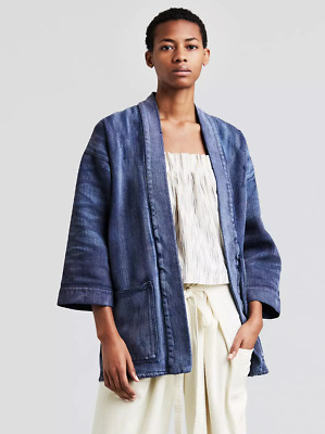 AU192.59 • Buy Levi's Made & Crafted KIMONO Denim Jacket 0 / XS