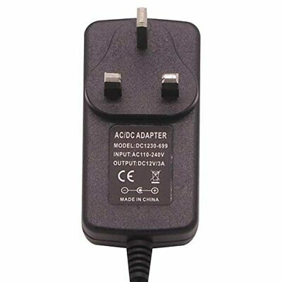 £9.17 • Buy AC/DC 12V 3A Power Supply Adapter For CCTV IP WIFI Camera, LED Strip Lights, Aud