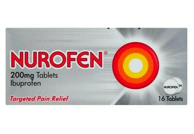 Nurofen 200mg 16 Tablets Ibuprofen - Targeted Pain Relief. • 2.89£