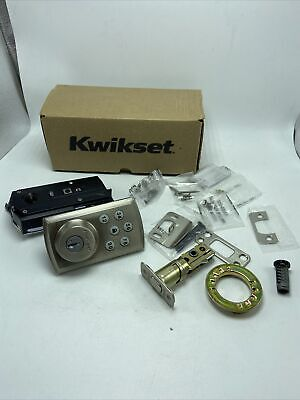$ CDN75.96 • Buy Kwikset SmartCode 6 Keypad Smart Lock Brushed Nickle SK:KW069899