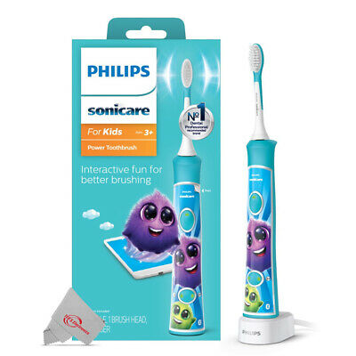 AU63.27 • Buy Philips Sonicare Electric Toothbrush Advanced Sonic Technology Aqua For Kids