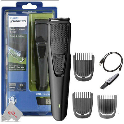 AU25.75 • Buy Philips Norelco Cordless Beard Trimmer 1000 Beard And Stubble Trimmer