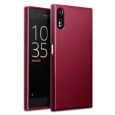 AU17.81 • Buy Xperia XZ Premium Case Impact Engineered Rugged High Density Gel Red Matte