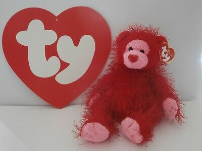 £6 • Buy Ty Beanie Punkies Mwmt Flame The Red Bear