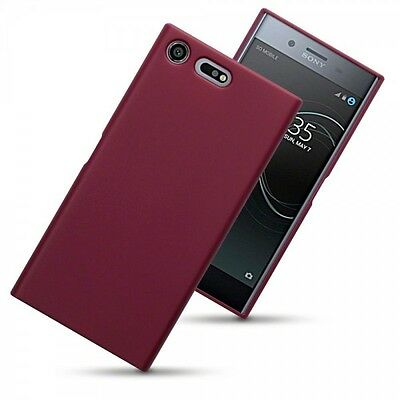 AU18.33 • Buy Sony Xperia XZ PREMIUM .  ATS Case Flexible High Density TPU Cover Red