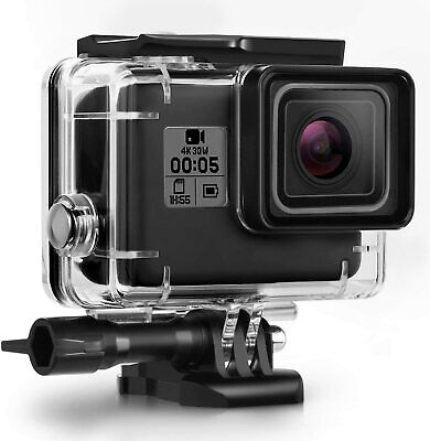 $ CDN17.75 • Buy Waterproof Housing Case For GoPro Hero 7 Black 6 5 Protective Shell With Bracket
