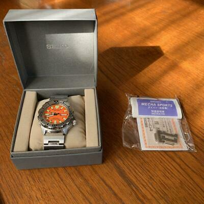 $ CDN940.52 • Buy Seiko Discontinued Divers Orange Monster Box Automatic Mens Watch Auth Works
