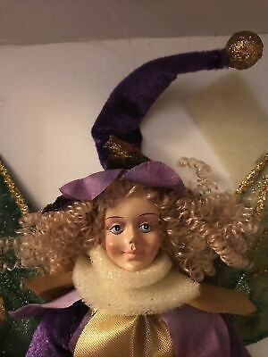 "$ CDN37.58 • Buy Celebrate Show Stoppers 14"" Porcelain  Doll New In Box Pixie Fairy"