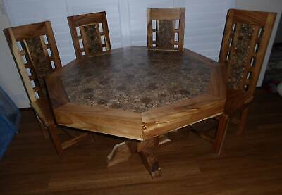 AU243 • Buy Dining Table And Four Chair Set