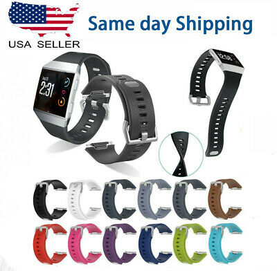 $ CDN4.69 • Buy Replacement Silicone Rubber Classic Band Strap Wristband For Fitbit Ionic Watch