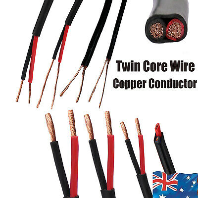 AU15.03 • Buy Twin Core Wire 2 Cores Cable Electrical Solar Auto Trailer Camper Wiring 3V-48V