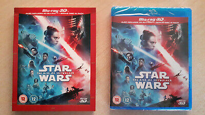 AU37.36 • Buy 3D + 2D Blu-Ray Star Wars The Rise Of Skywalker +SLIPCOVER Bonus Disc All Region