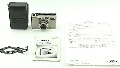 $ CDN2418.73 • Buy CLA'd [ MINT ] Contax T3 D 35mm Point & Shoot Film Camera With Case Strap JAPAN
