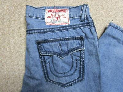 Mens True Religion 40 W 29 L Regular Straight Jeans / Ref A20 363 • 24.95£
