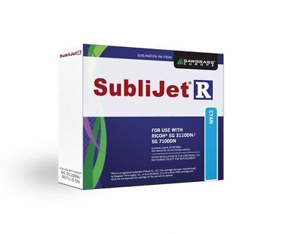 Sawgrass Sublijet Ricoh 7100DN/ 3110DN Cyan Sublimation Ink Cartridge • 25£
