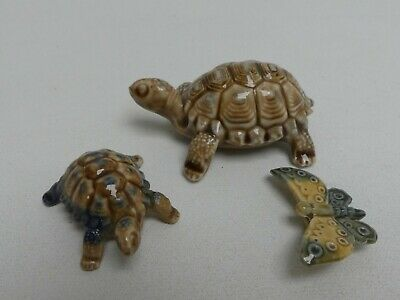 (ref288X) Collection Of Wade Porcelain Animals Tortoise Butterfly • 4.99£