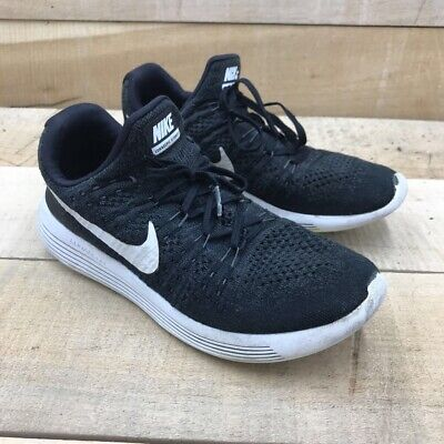 $ CDN37.97 • Buy Nike Womens Lunarepic Low Flyknit 2 Running Shoes Black 863780-001 Lace Up 8.5 M