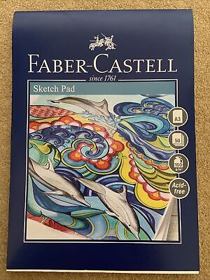 Faber Castell A3 Sketch Pad Creative Studio 100gsm 50 Sheets Art Draw • 4.99£