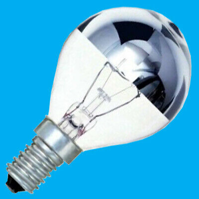 £9.49 • Buy 4x 25W Crown Silver Top Reflector Dimmable Golf Light Bulb,SES,E14 Small Edison