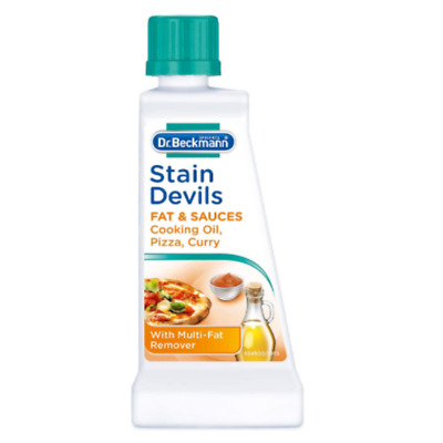 Blood Stain Devils Cooking Oil Sauces Curry Stains Remover Dr. Beckmann 50ml • 5.84£