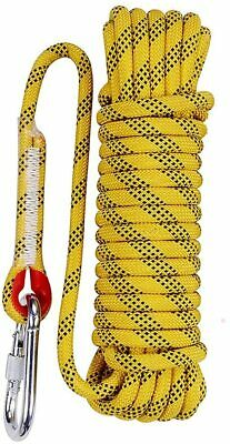 Aoneky 10mm Static Outdoor Climbing, Fire Escape Safety, Rappelling Rope - 30m • 20.22£