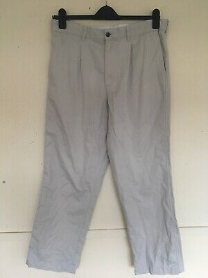 Atlantic Bay Tan Mens Pure Cotton Chinos Size W: 19 Inches • 4.23£