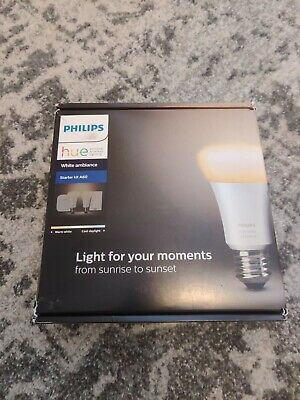 AU107 • Buy Philips Hue White Ambiance Starter Kit A60 A19 E27 BNIB
