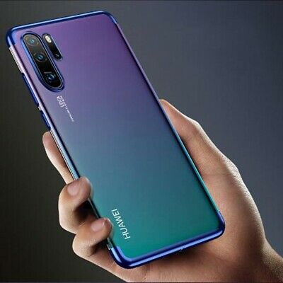 For Huawei P20 P30 Pro Lite Mate Smart Cover Hybrid Shockproof Silicone Case • 2.99£