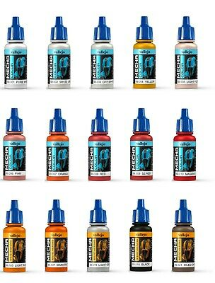 £4.35 • Buy Vallejo Mecha Color Acrylic Model Paints 17ml Full Range To Choose From