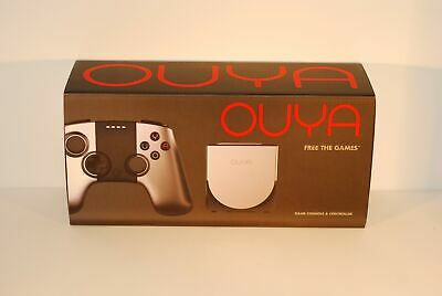 $76.79 • Buy OUYA SILVER 8GB ANDROID VIDEO GAME CONSOLE And CONTROLLER HOSTS FILE UPDATED