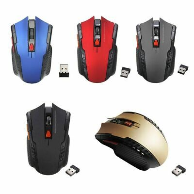 £6.59 • Buy Pc Optical Wireless Mouse Laptop Cordless Usb Computer 2.4GHz Gaming Scroll Mice