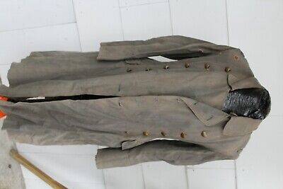 WW2 German Tropical Luftwaffe Officer Rubberized Coat Well Used SALE PRICE@@@@@@ • 139£