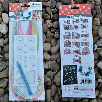 £7.15 • Buy Quilling Tools Starter Kit / Small / Paper Template Board Slotted Tool / Artemio