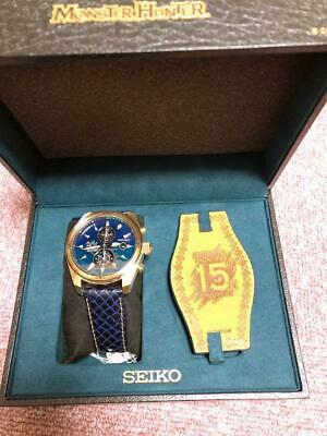 $ CDN1544.54 • Buy Seiko Limited Edition Box Monster Hunter Solar Mens Watch Authentic Working