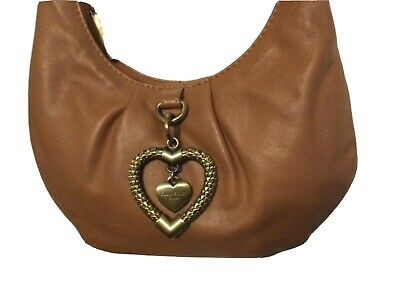 Suzy Smith Small Tan Leather Shoulder Bag  Used Once • 12£
