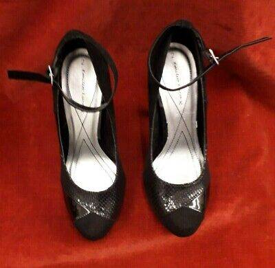 £14.99 • Buy Womens Size 2 Black High Heeled Shoes New Emilio Luca X Unboxed. NEW