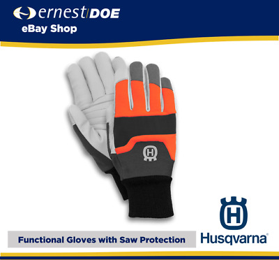 £22.95 • Buy Husqvarna Chainsaw Protective Functional Work Gloves   Chainsaw Gloves