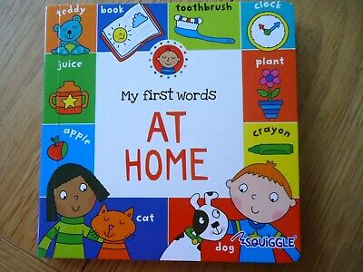 £2.99 • Buy MY FIRST WORDS AT HOME - BOARD BOOK - Toddler, Boy, Girl - Learning - NEW