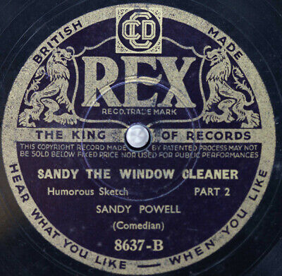 £19.49 • Buy Sandy Powell - Sandy And The Window Cleaner (Shellac, 10 )