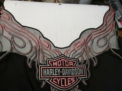 $ CDN31.40 • Buy Harley Davidson Motorcycle  Womens Unique Sheer Embroidered Tank Top Shirt 1x