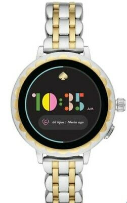 $ CDN250.63 • Buy Kate Spade New York. Scallop Bracelet Smart Watch Silver/Gold. 41mm.