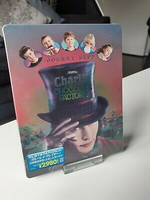 £30 • Buy Charlie And The Chocolate Factory Japan Exclusive Blu-Ray Steelbook
