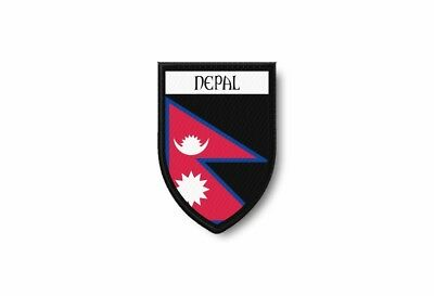 Patch Termocollant Edge Embroidered Flag Printed Nepal Hat And Mitten Set • 3.89£