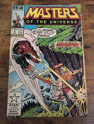 $6 • Buy Masters Of The Universe #8 Marvel Star Comics He-man