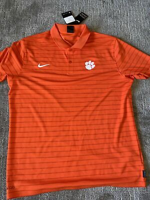 Nike Men's Dri-fit Victory Polo— Clemson Tigers — On Field Apparel — L • 32.25£