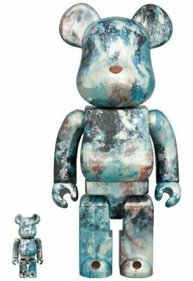 $299.99 • Buy Pushead #5 400% 100% Bearbrick Medicom Be@rbrick Silver Pattern Rare Limited