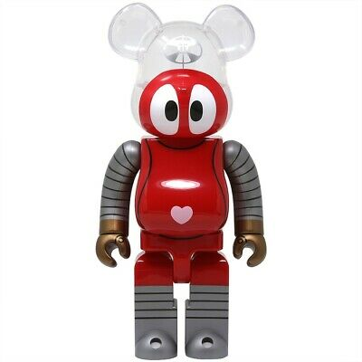 $199.99 • Buy ROBOCON 400% Bearbrick Be@rbrick Medicom Toy Rare Limited Robot Red Heart