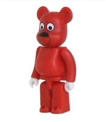 $39.99 • Buy GACHAPIN JYOJI KATAKIRI 100% Bearbrick Series 16 S16 Cute RED CHASE 2008 Rare